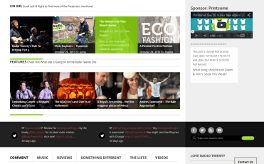 Radio Twenty Homepage 2