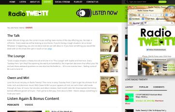 Radio Twenty Shows Page