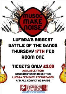 Flyer for Musoc Make Noise