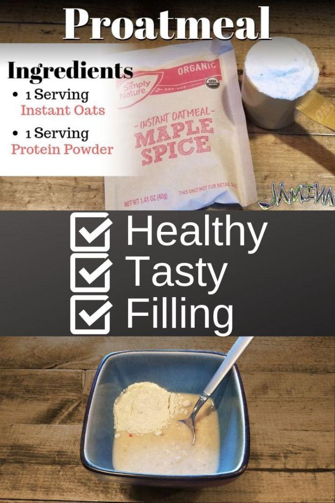 Proatmeal 2 ingredient super breakfast