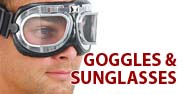 Goggles & Sunglasses Featured by Jamin' Leather