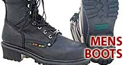 Men's Boots Featured by Jamin' Leather