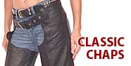 Classic Chaps Featured by Jamin' Leather