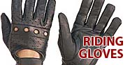 Riding Gloves Featured by Jamin' Leather