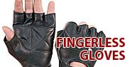 Fingerless Gloves Featured by Jamin' Leather