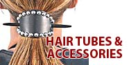 Hair Tubes & Accessories Featured by Jamin' Leather
