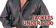 Jackets Under $100 Featured by Jamin' Leather