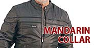 Mandarin Collar Jackets Featured by Jamin' Leather