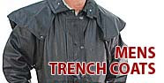 Mens Trench Coats Featured by Jamin' Leather