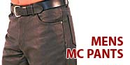 Men's MC Pants Featured by Jamin' Leather