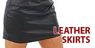 Leather Skirts Featured by Jamin' Leather