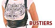 Bustiers Featured by Jamin' Leather