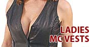 Ladies MC Vests Featured by Jamin' Leather