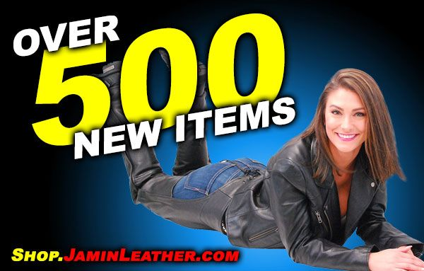 500+ New Items at Shop.JaminLeather.com!