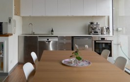 Kitchen space - JamJar Coworking - Clifton Hill office