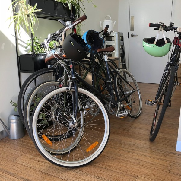 Jam Jar cowork - bike parking - Collingwood
