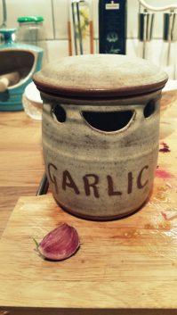 A clove of garlic...
