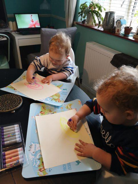 JamJarGill: Little Brian Paint Sticks {product review}