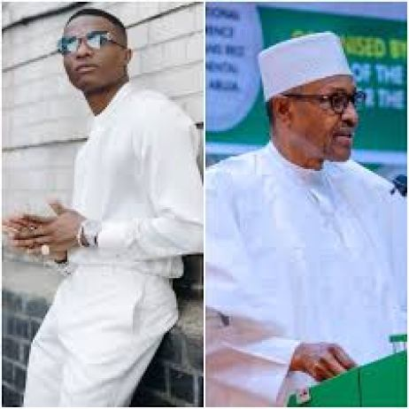 A 77-year-old man is not young ma' Wizkid says as he replies presidential  aide who called him out for disrespecting President Buhari — Global Times  Nigeria