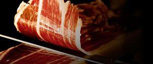 Corte jamón ibérico de bellota