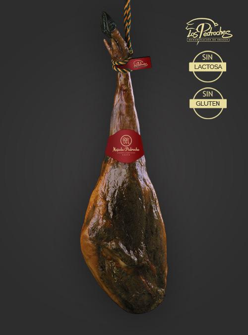 Jamón ibérico de bellota etiqueta roja