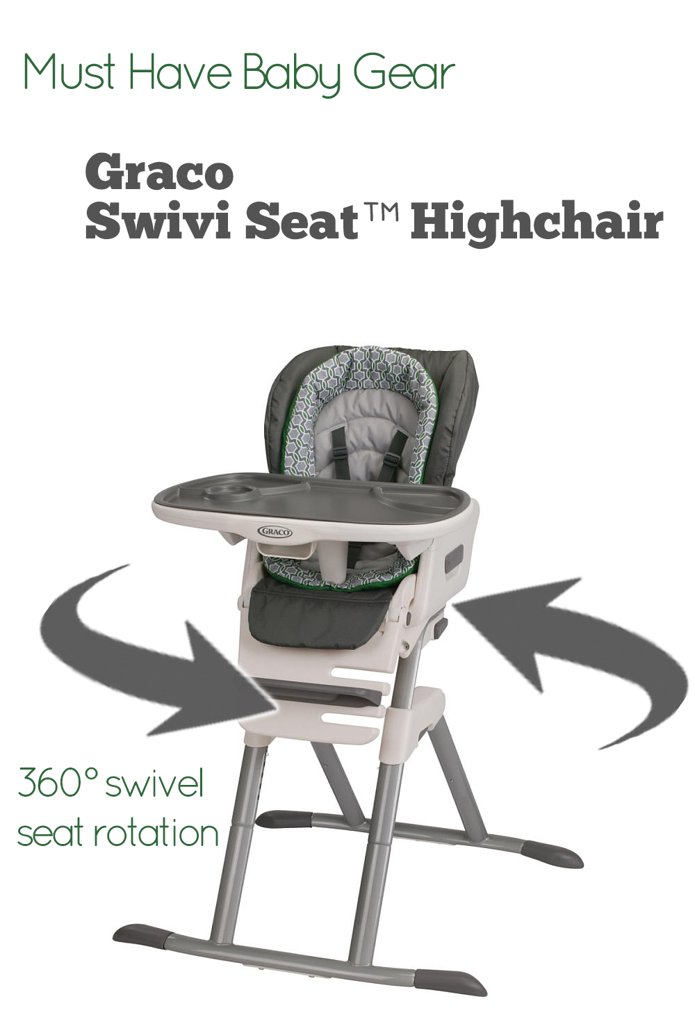 seat high chair swivel que significa en español closer look at the graco swivi highchair jamonkey