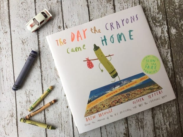 The Day The Crayons Came Home Childrens Book Review