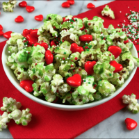 Grinch Popcorn Recipe and VIDEO