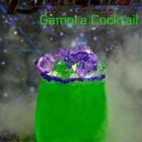 Gamora Inspired Cocktail for Avengers Infinity War