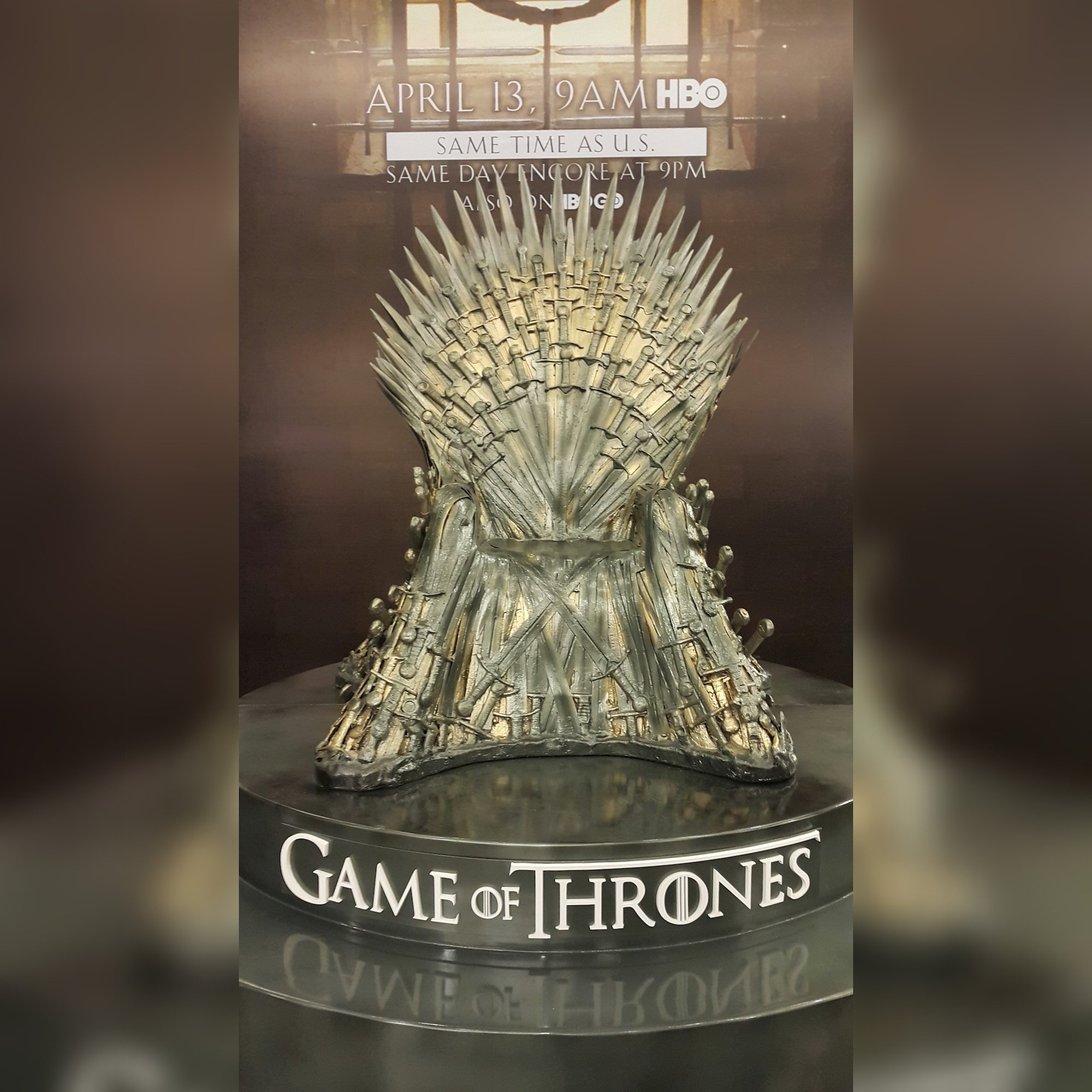 game of throne chair folding rope yugoslavia thrones is back and we got an iron replica