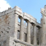 entrance-centre ATHENS - The Acropolis