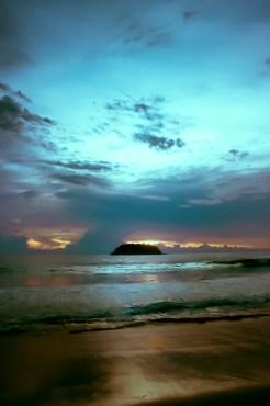 Sunset over Koh Phu