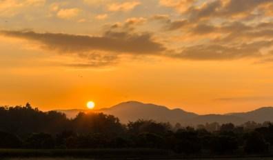 Sunrise in North Thailand