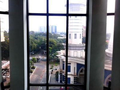 through window