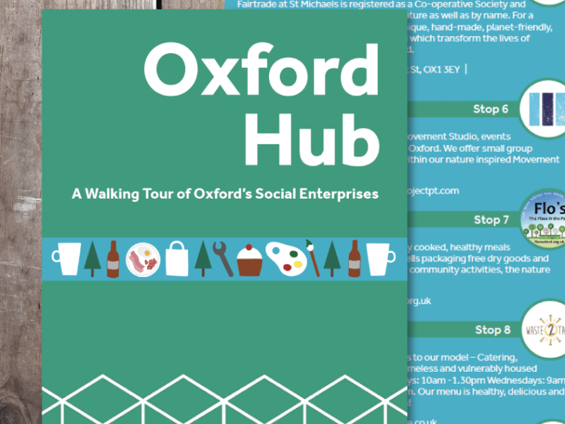 Oxford Hub Walking Tour Map