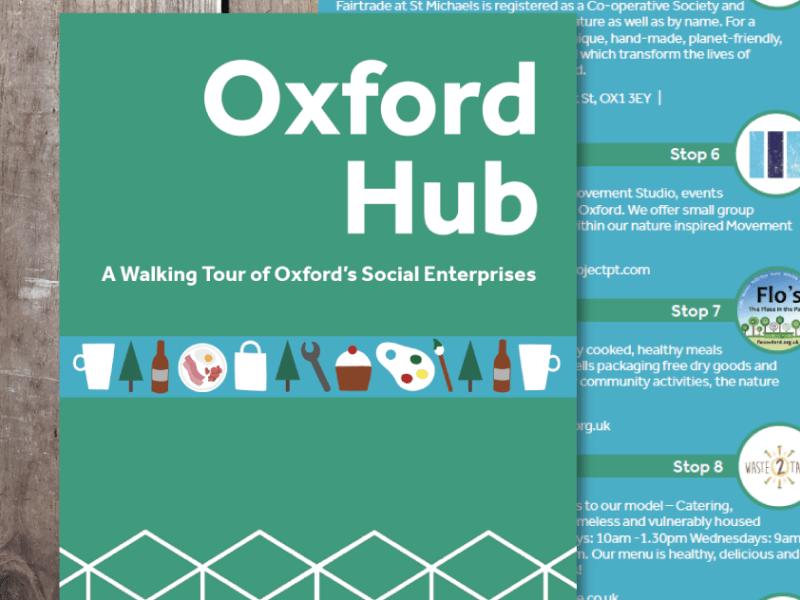 Oxford Hub Walking Tour Map