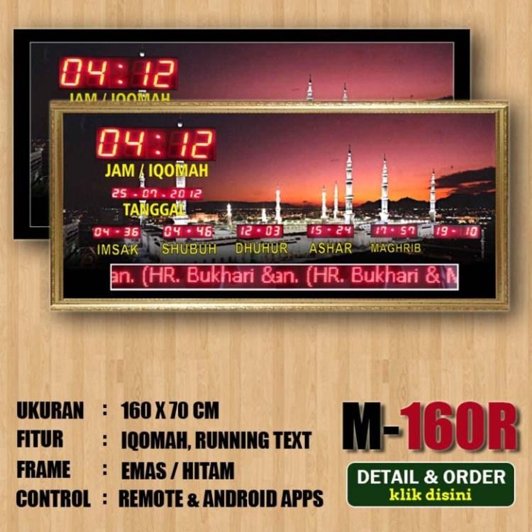 Jam Digital Masjid bekasi 6