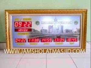 penjual jam jadwal sholat digital masjid running text di tangerang barat