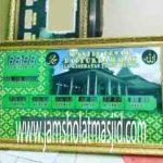 penjual jam jadwal sholat digital masjid running text di depok pusat