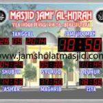 penjual jam jadwal sholat digital masjid running text di Mustikajaya bekasi