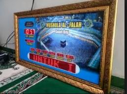 jual jam digial masjid di karawang utara