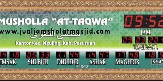 jam digital sholat masjid di cibitung