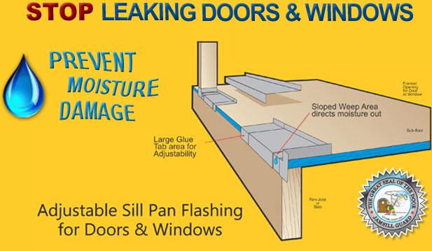 Flashing Under Sliding Glass Door