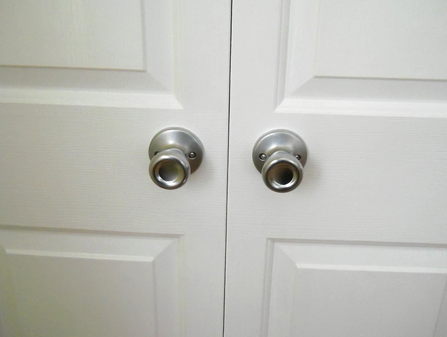 Where To To Bifold Closet Doors Knobs