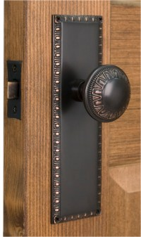 Make a great look of your door with Door knob plates ...