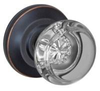 Glass door knob sets  Door Knobs