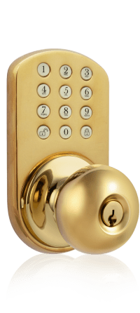 Keyless Entry Door Knob  How can it work? + Video Review ...