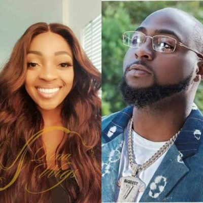 Davido's Sister Takes Him To Church