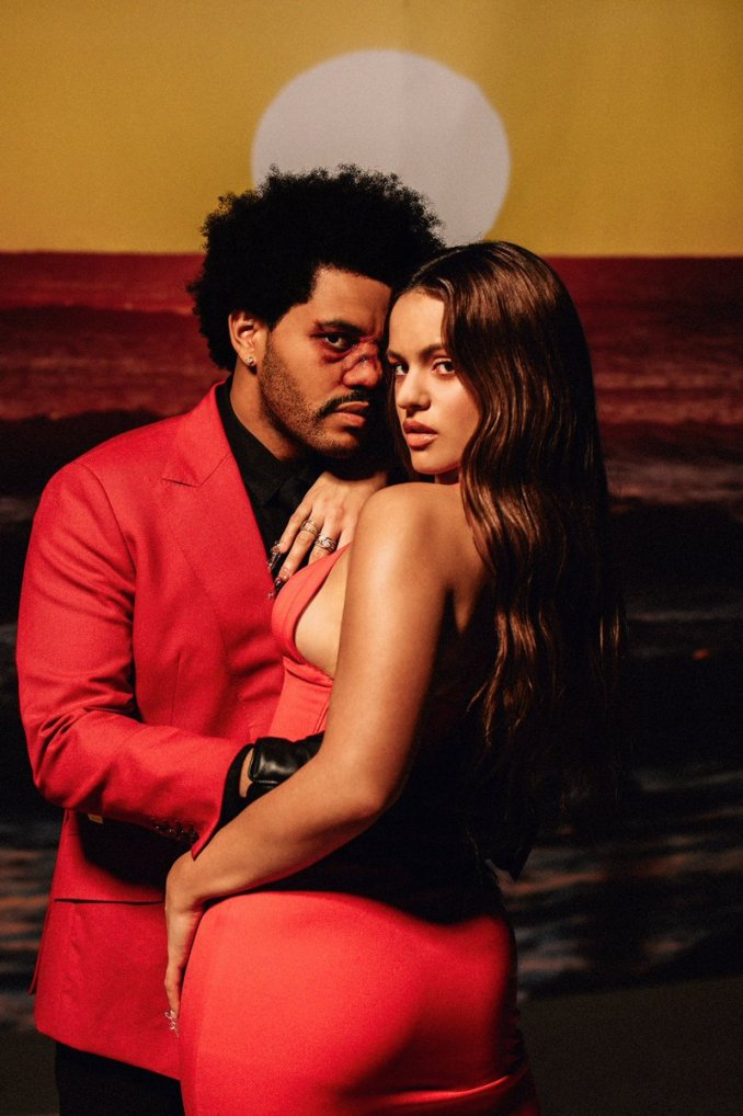 MP3: The Weeknd – Blinding Lights (Remix) Ft. Rosalía