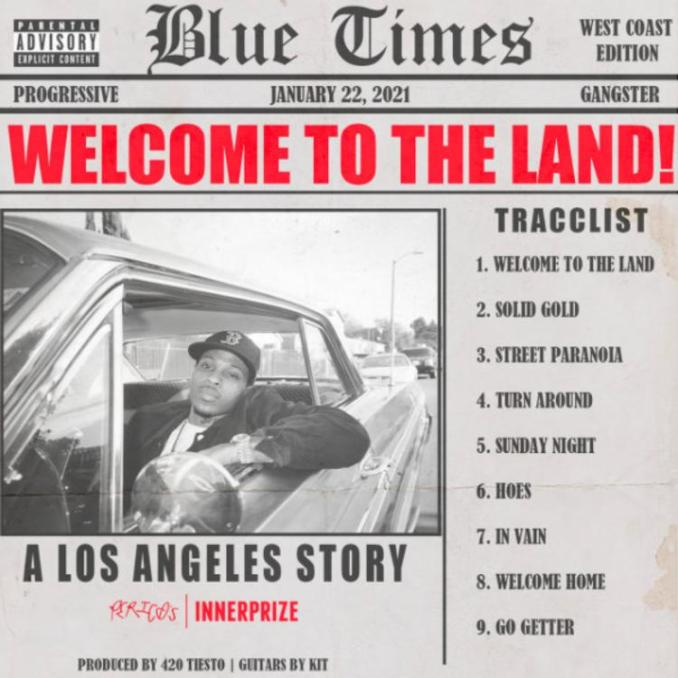 G Perico Welcome To The Land ALBUM ZIP DOWNLOAD